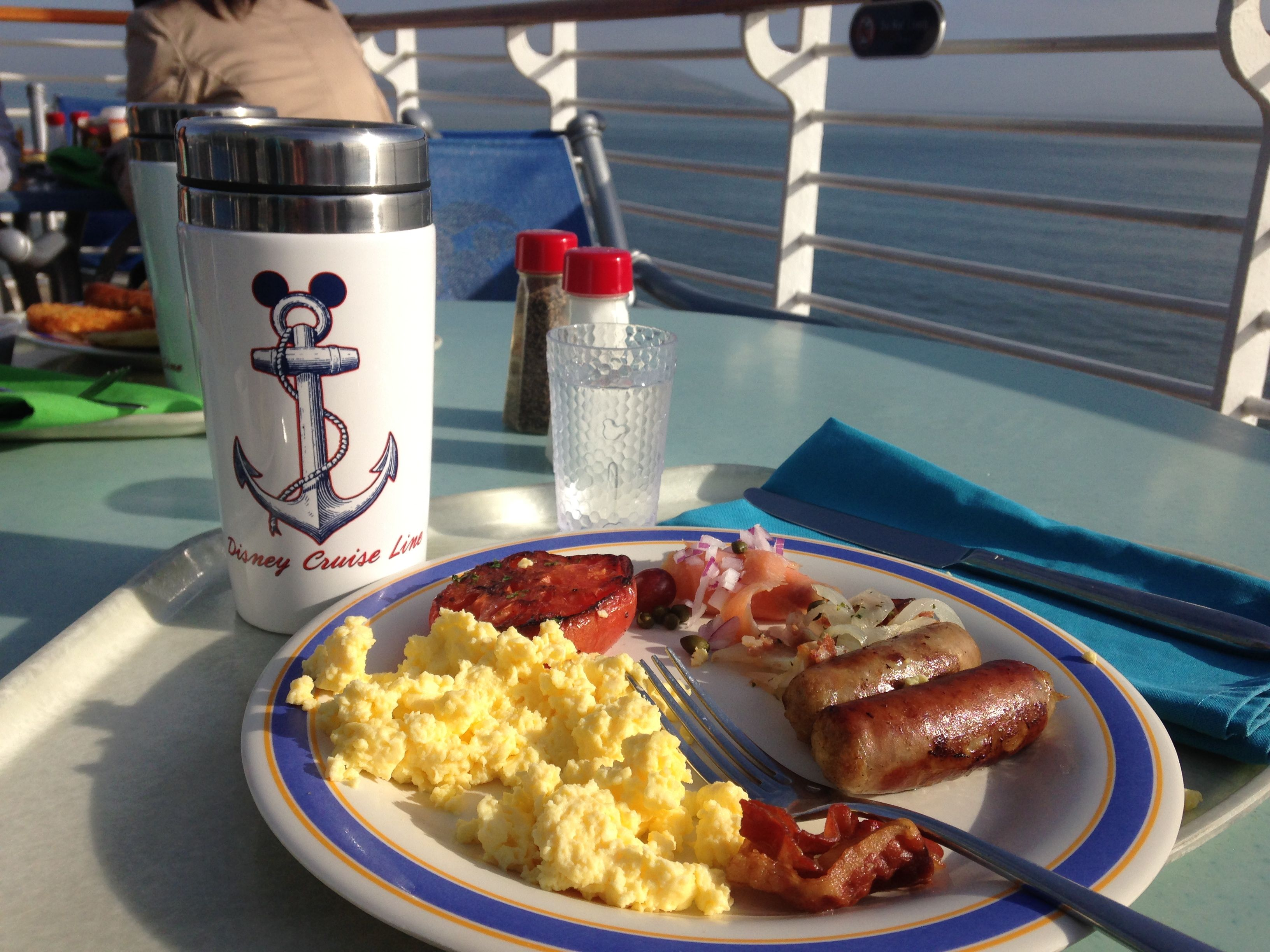 Disney Cruise Recap Part II – What I Ate